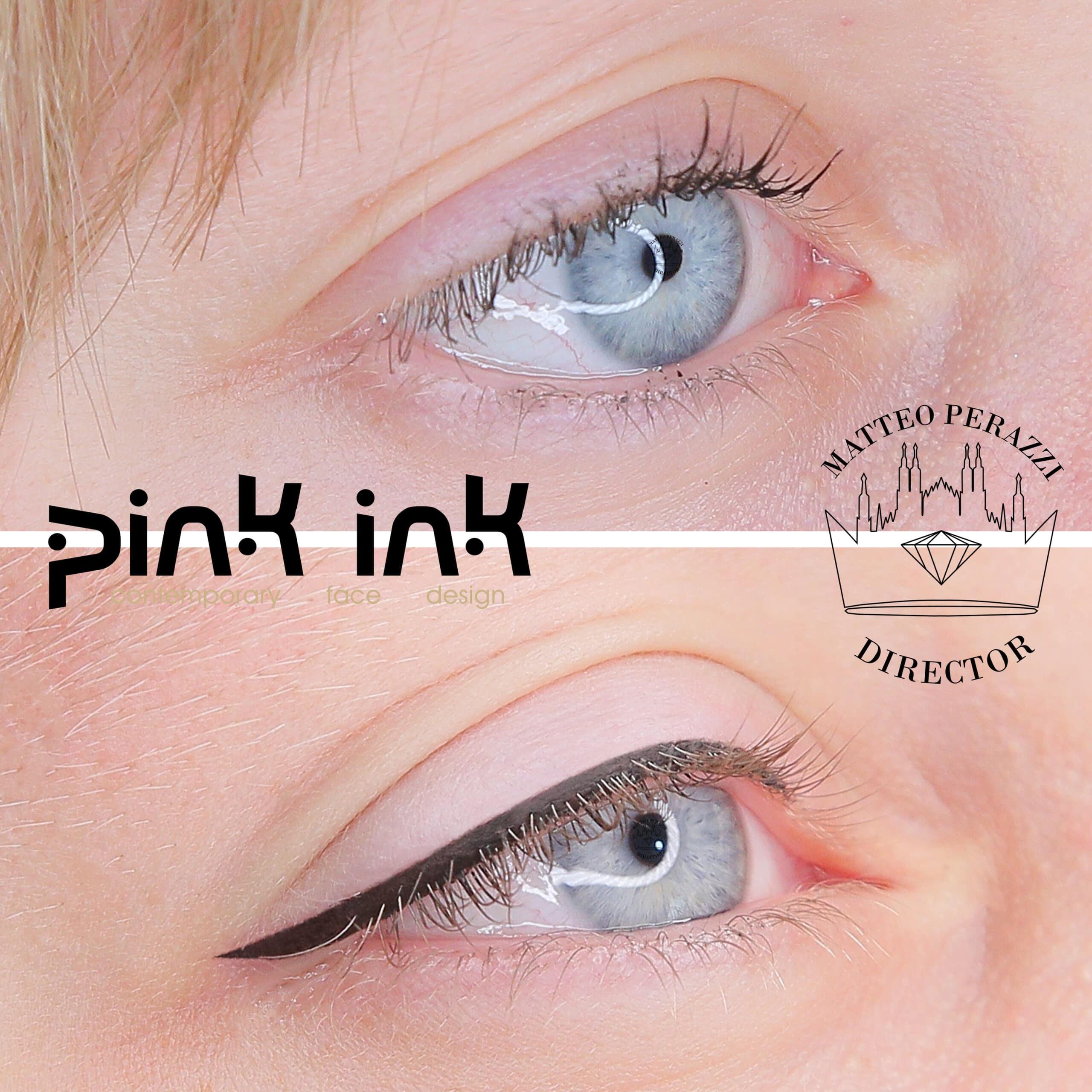 eye liner pink ink